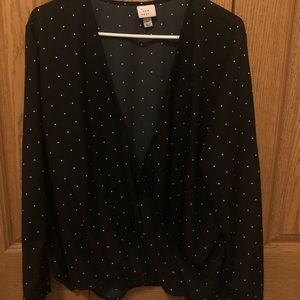 A New Day Polka Dot Top